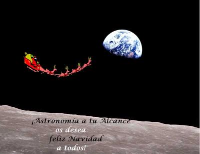 ¡Astronomía a tu alcance os desea feliz navidad! Sin+t%C3%ADdtulo