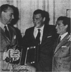 Armando Pontier, Julio Sosa y Oscar Ferrari