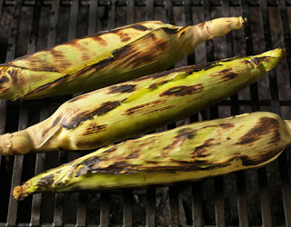 Roasted corn on the cob (hubby's personal fav)