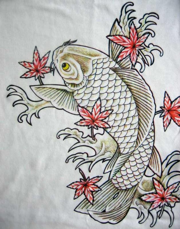 Cá Chép đỗ, vẫy, đuôi, râu, sừng tự nhiên mọc đủ ...