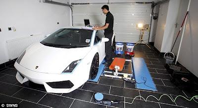 Tempat Cuci Mobil Termahal di Dunia
