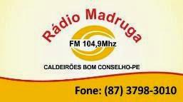 Rádio Madruga FM - 104,9