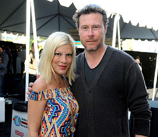 Tori Spelling's husband Dean McDermott got her name tattooed on an intimate part of his body