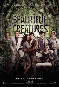 Beautiful Creatures 2013 poster