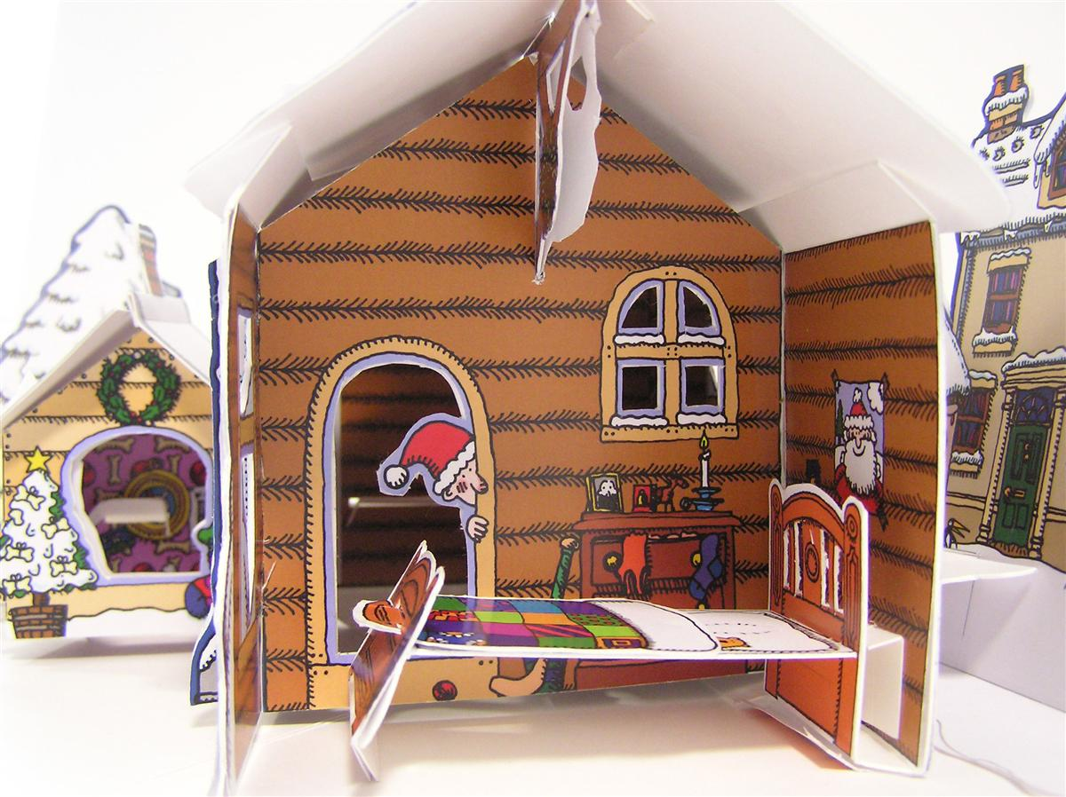 Blog de los niños: La fabulosa casa de Papá Noel