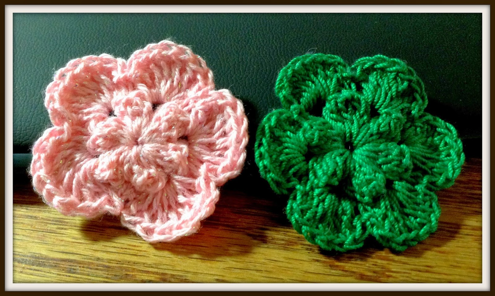 Crochet Flower Pattern Thread : The Shtick I Do!: Crochet Thread Flower with Free Pattern