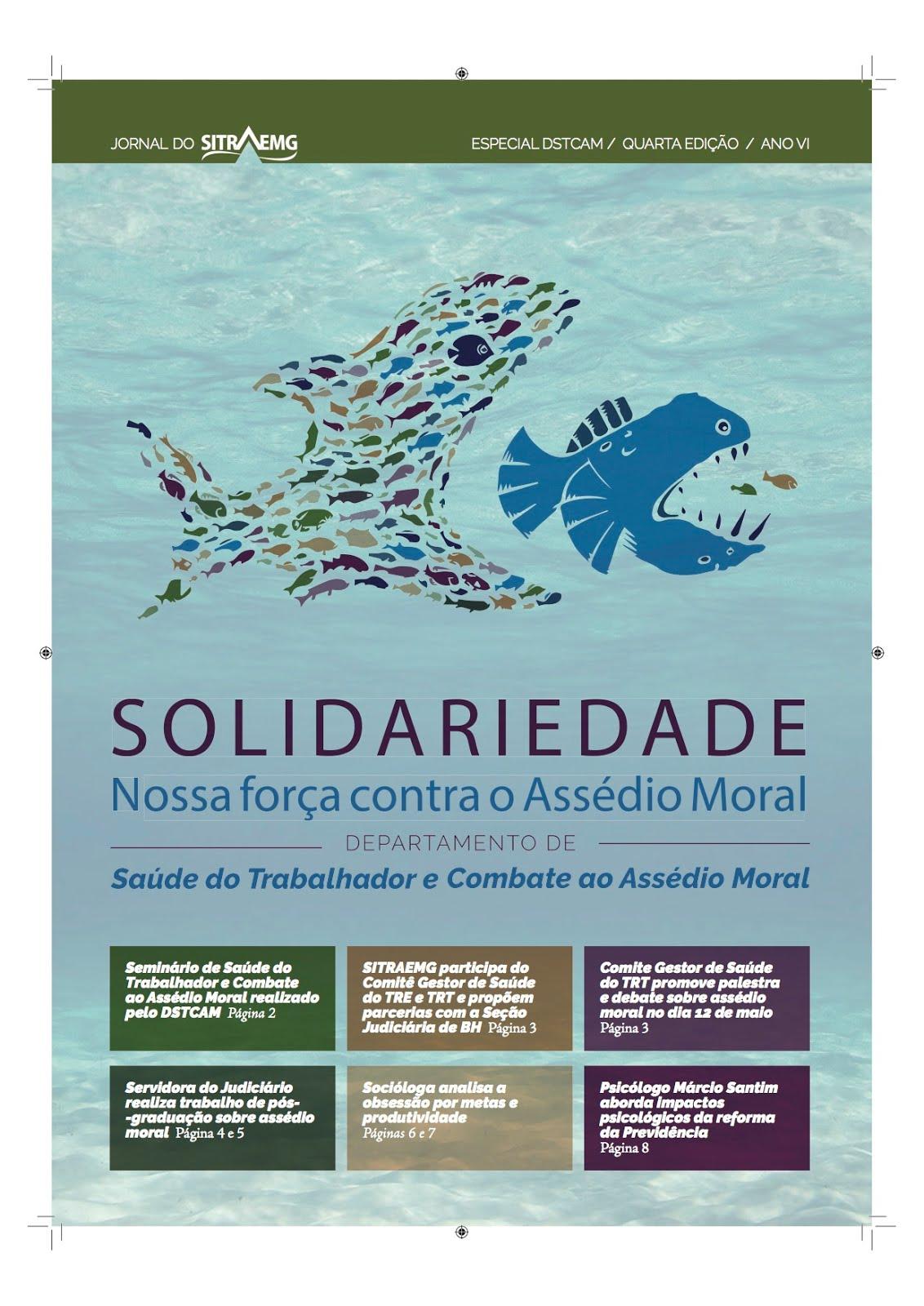 JORNAL DSTCAM/SITRAEMG QUARTA EDIÇÃO