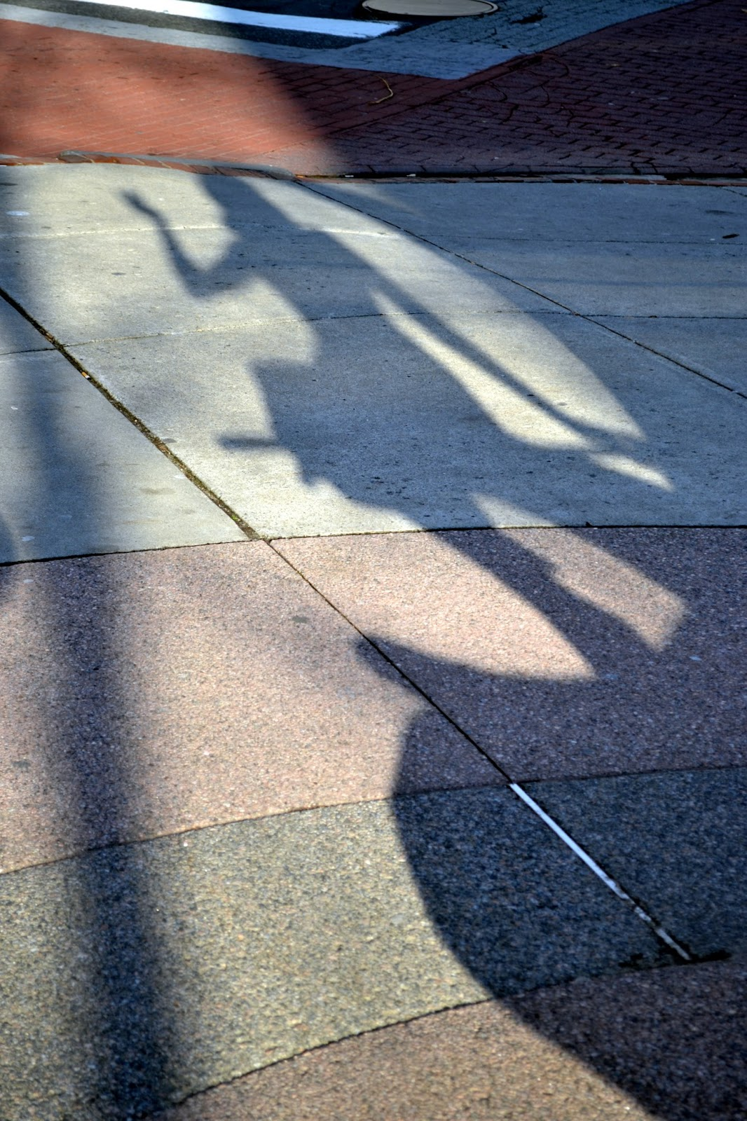 Bewitched Statue, Shadow, Salem, Massachusetts
