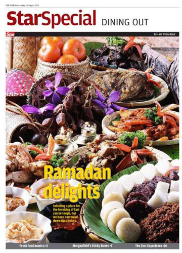 Ramadan Delight babi... The Star digantung, KP dipecat?