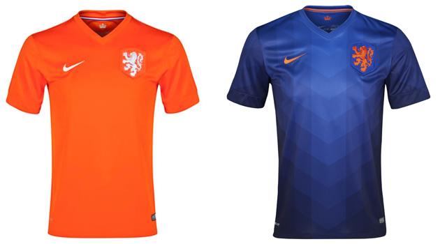 Camisetas selección Holanda Mundial 2014