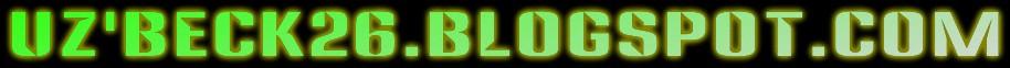 UZBECK26.BLOGSPOT.COM