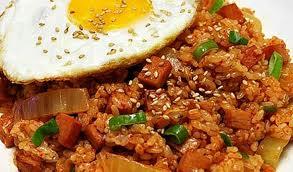 kimchi fried rice bokkeum bap
