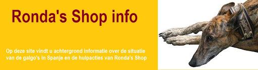 Ronda's Shop info