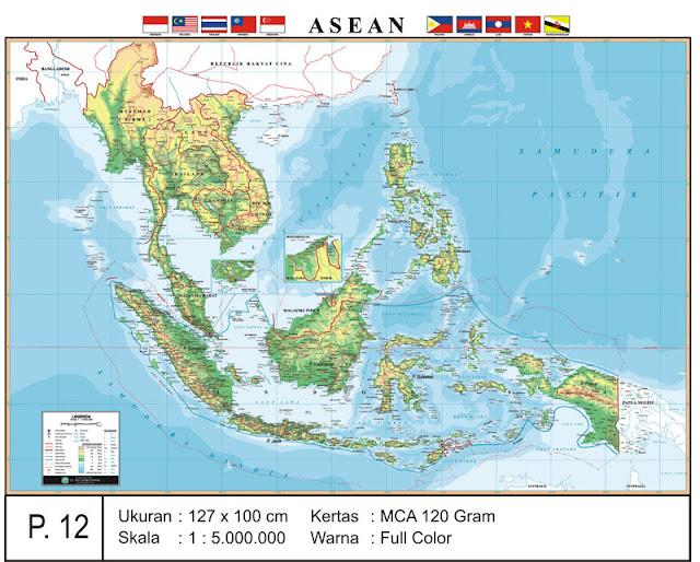 gambar peta asean1
