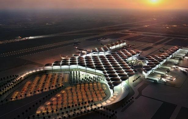 Sân bay quốc tế Queen Alia ở Amman (Jordan)