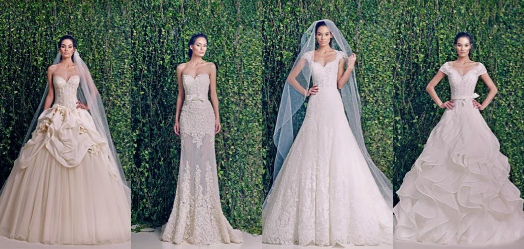 Mademoiselle shosho zuhair murad bridal fall 39 14 for Zuhair murad 2014 wedding dresses