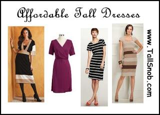 womens tall dresses