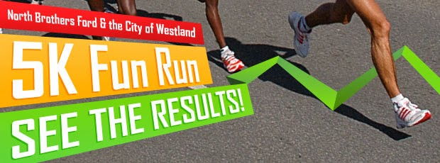 North Brothers Ford 16th Annual 5k Fun Run Results