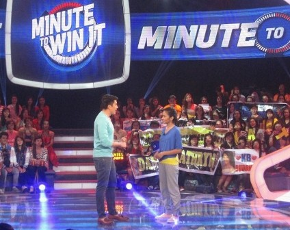 Kathryn Minute to Win It