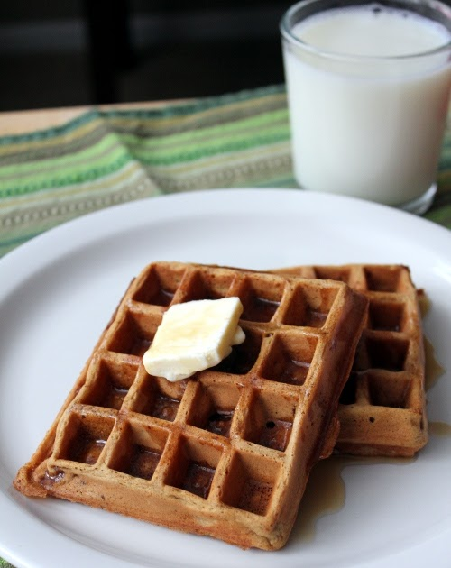 Kitchen Trial and Error: gingerbread waffles of insane ...