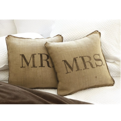 Throw Pillows Ballard Design : I really should be sleeping....: Ballard Designs Mr. & Mrs. Pillows