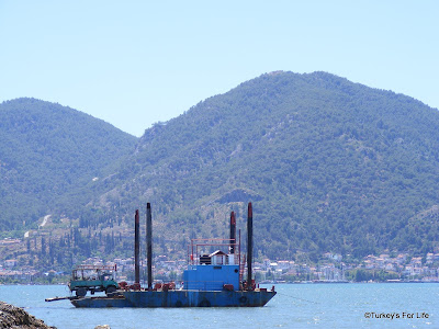 Fethiye harbour extension Turkey