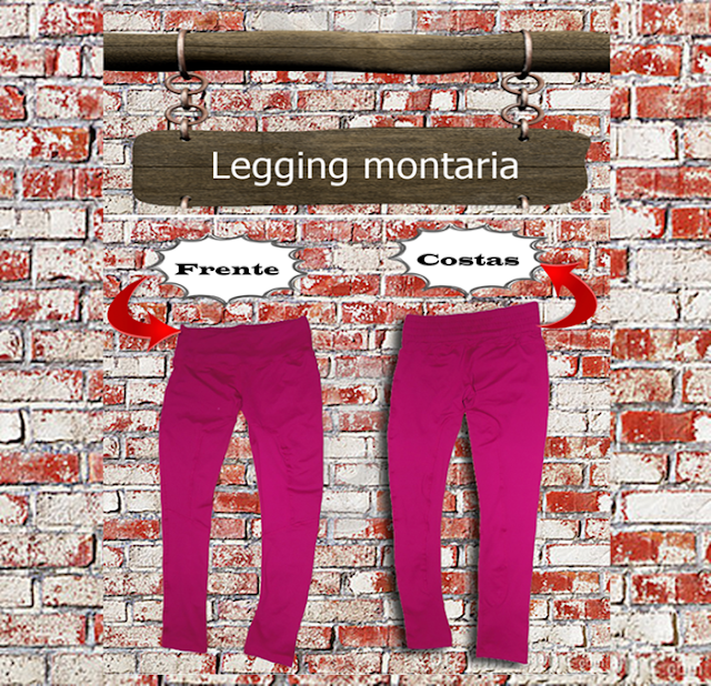 Legging montaria Bordô