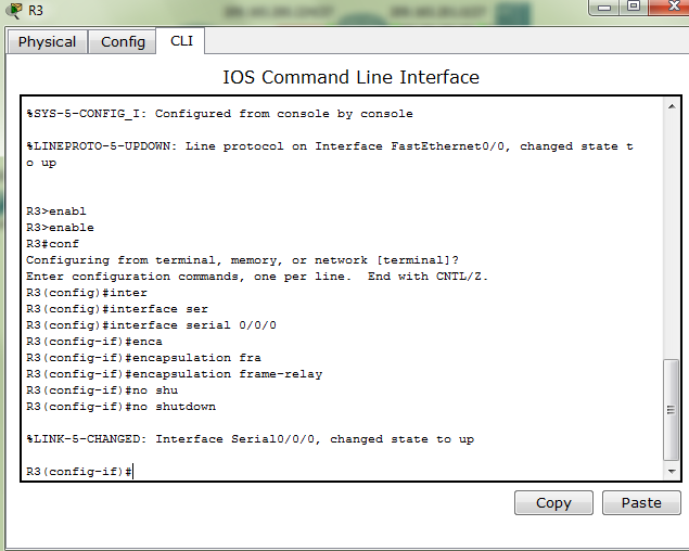 PT Activity 3.2.2 - Configuring Basic Frame Relay with Static Maps ...