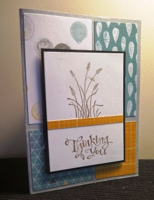 Smokey Slate base for zena kennedy independant stampin up demonstrator