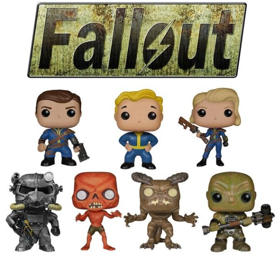 Fallout Pop Vinyl Figures