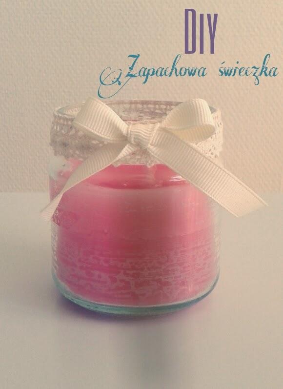diy, świeczka, świeczka zapachowa, świeczka domowym sposobem