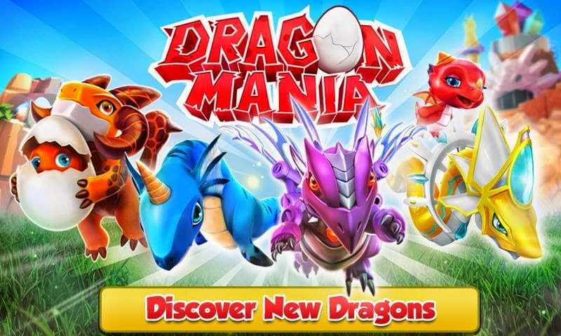 Game Dragon Mania V4.0.0 Mod Apk (Unlimited Coins & Gems)