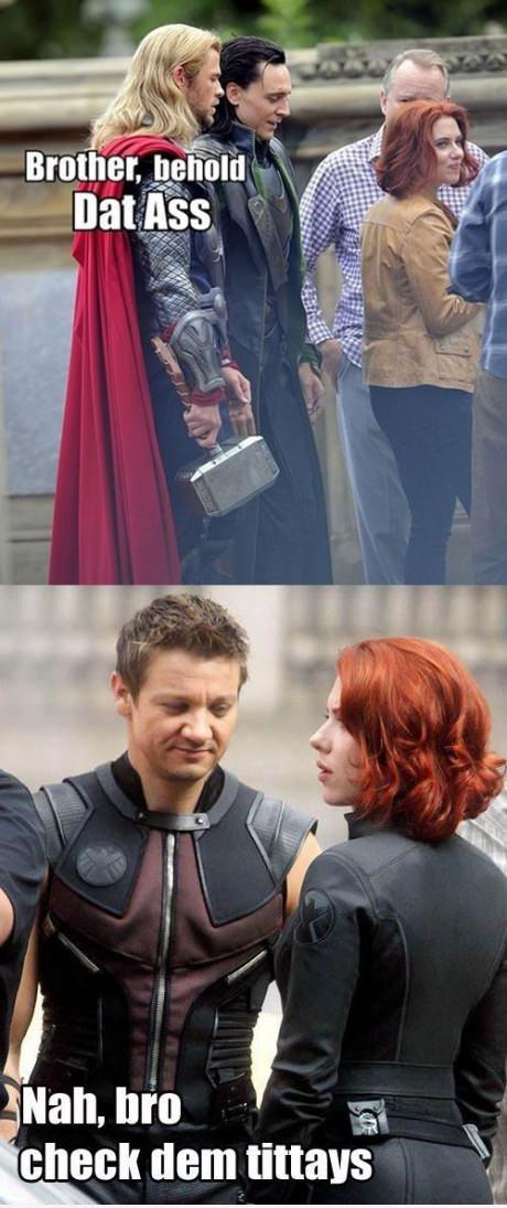 The Avengers Funny Moment : Oh Scarlett Johansson