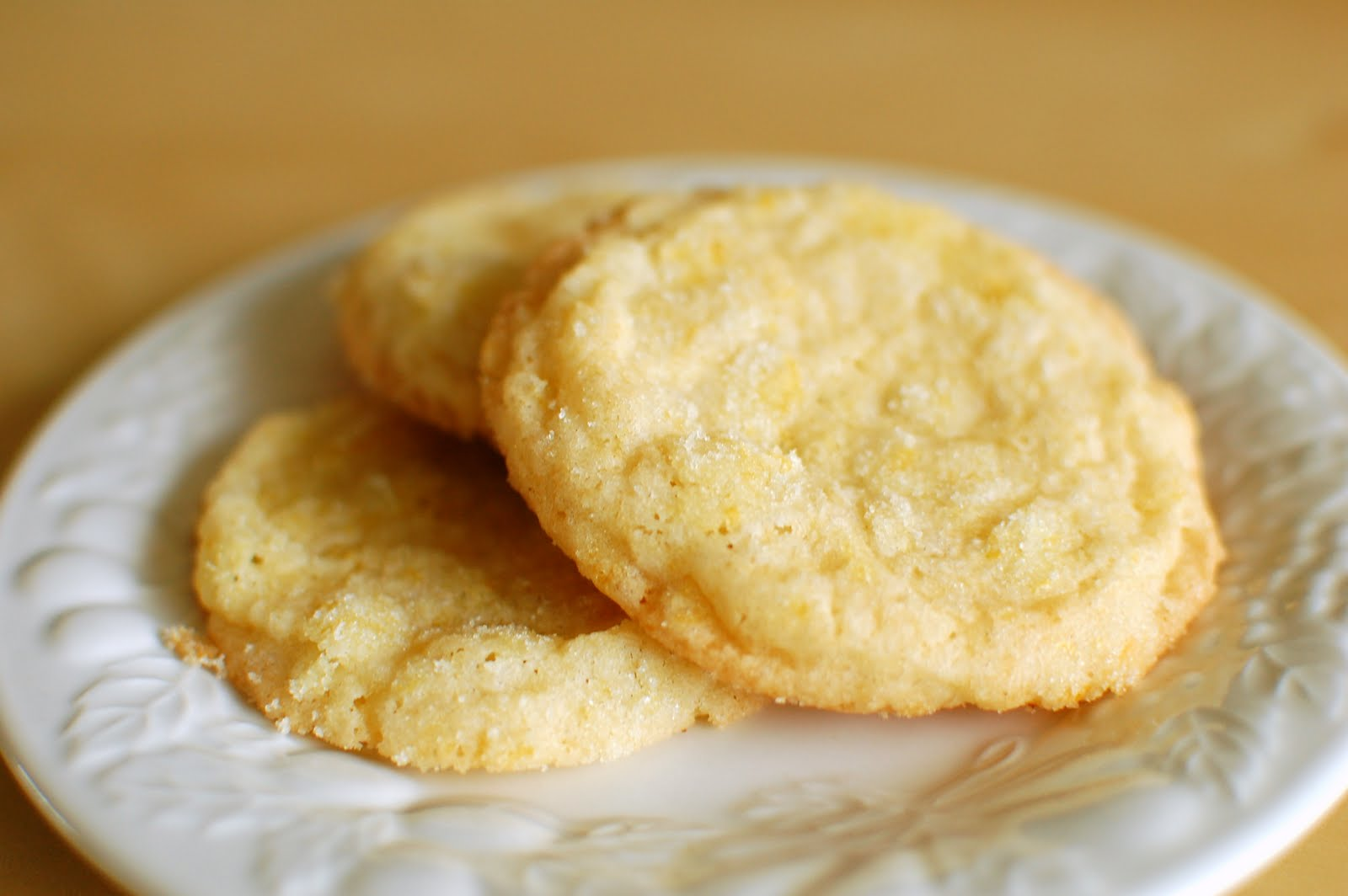 Chomping Board: Lemon almond cookies