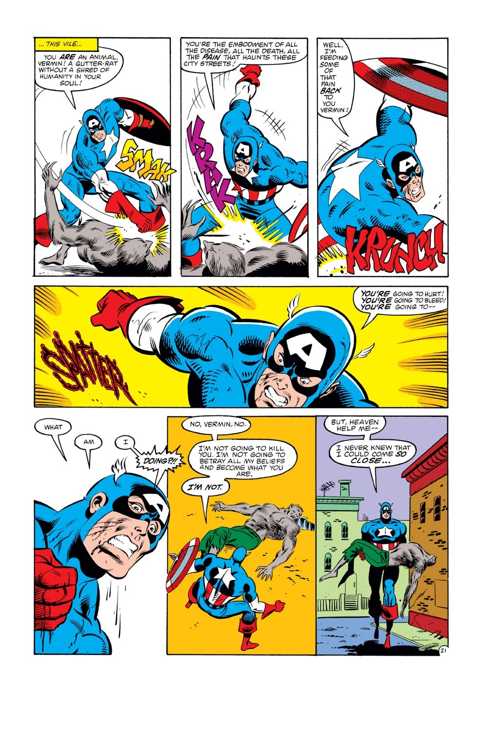 Captain America (1968) Issue #272 #188 - English 22