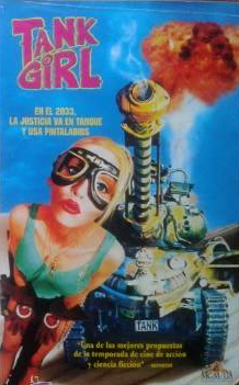 Tank girl, Rachel Talalay, Lori Petty, Malcolm McDowell