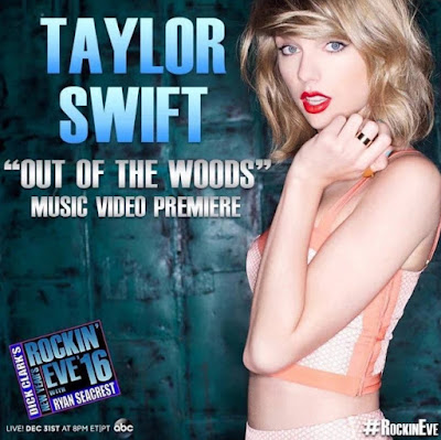 Taylor Swift comenzará 2016 con Out Of The Woods