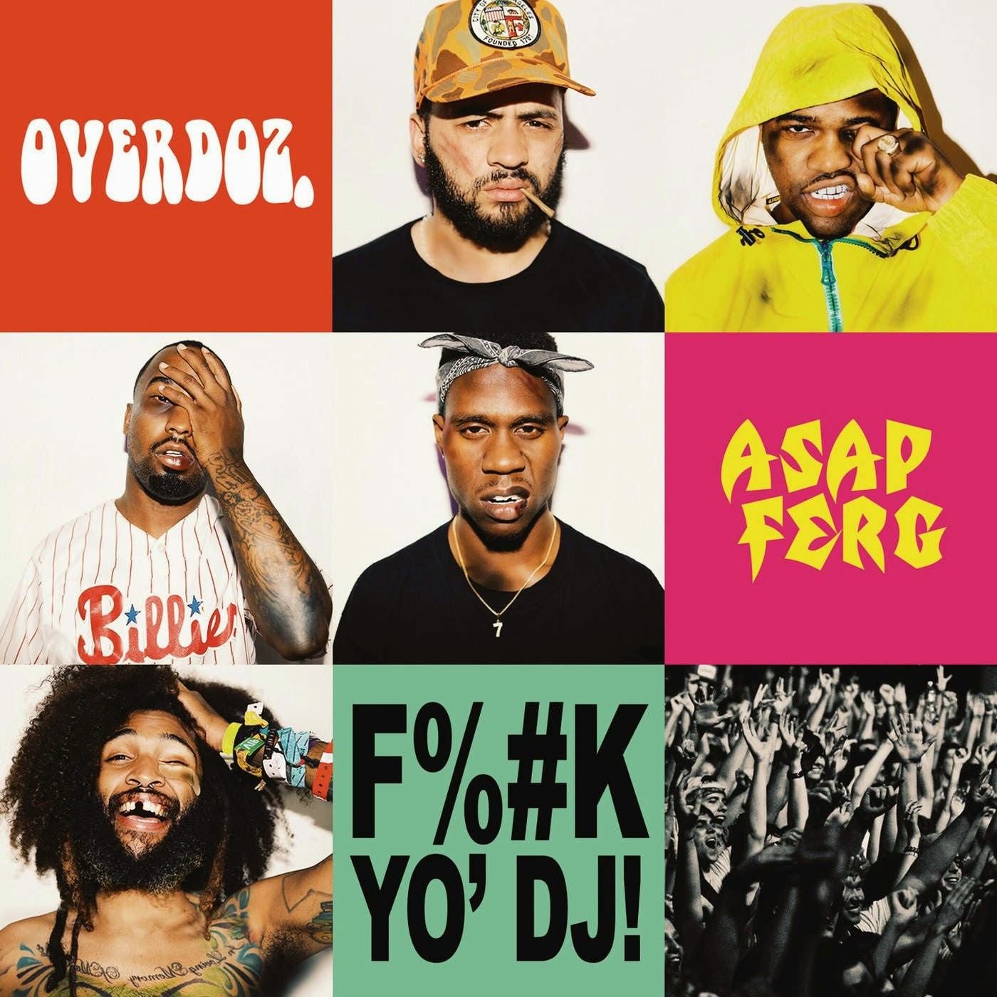 OverDoz.-~ censored ~ Yo DJ (feat. A$AP Ferg) (2015) 1080p