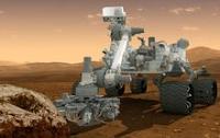 """El """"Curiosity"""" usó el láser para perforar una roca marciana"""