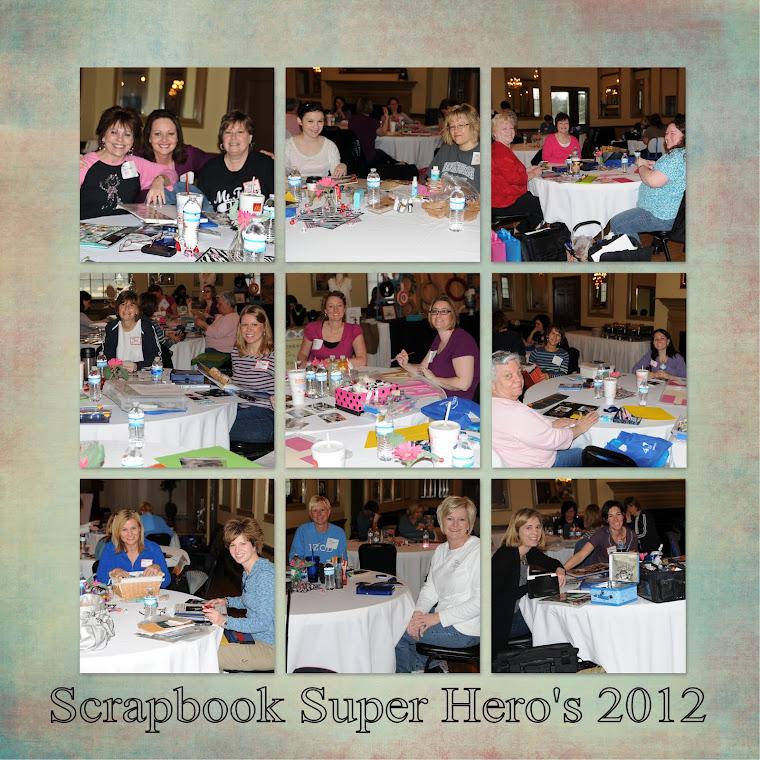 Scrapbook Super Hero's 2012