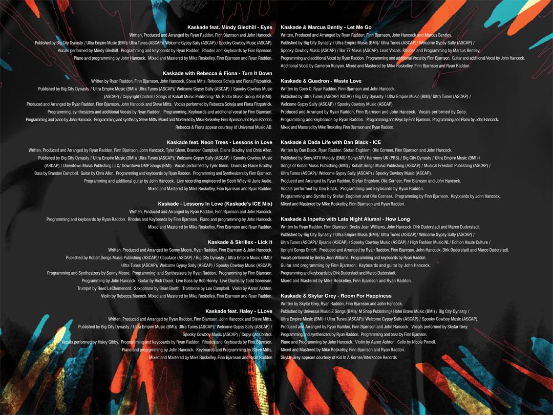 Encartes Pop: Encarte: Kaskade - Fire & Ice (Digital Edition) Fire And Ice Kaskade