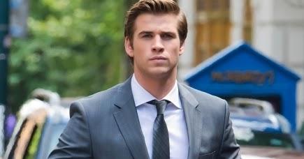 Liam Hemsworth Paranoia Suit