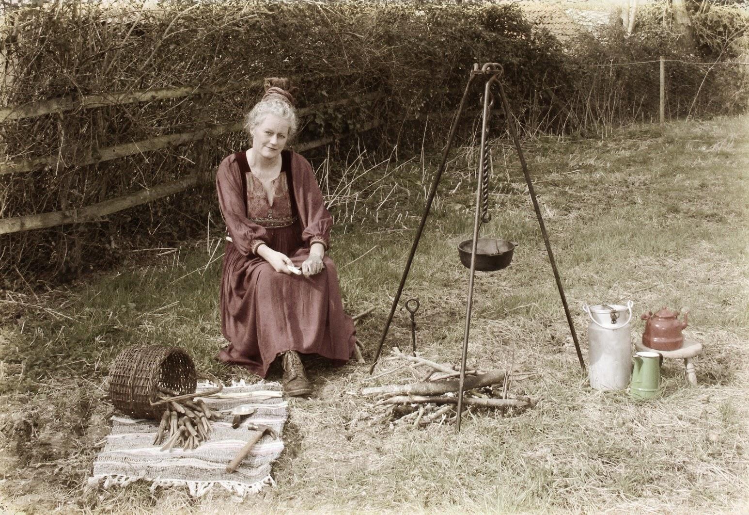 Making gypsy pegs