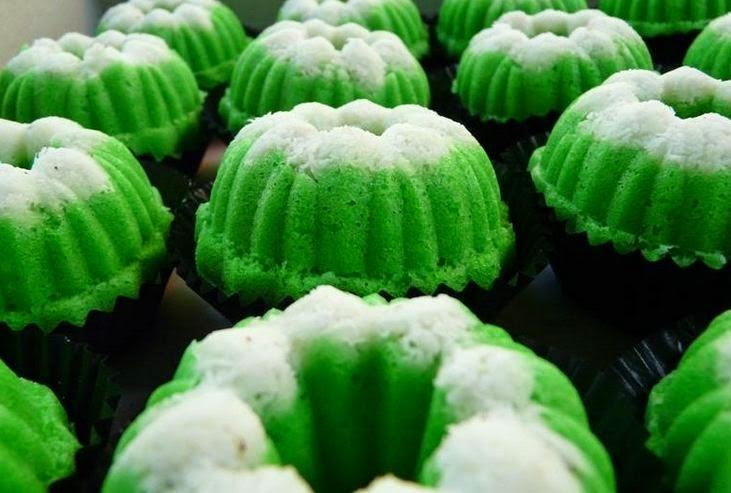 Resep Kue Basah Putu Ayu Kukus Lembut | Resep Masakan Sehari-hari ...