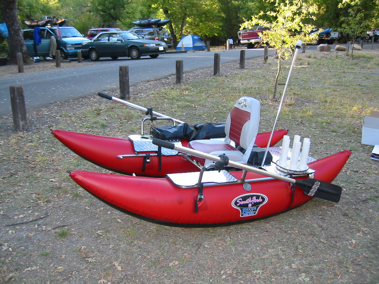 Inflatable pontoon boats and fishing float tubes - Belly Boat Fishing Submited Images