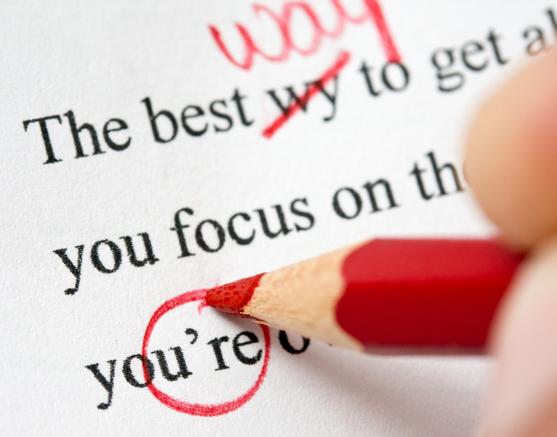 grammar error correction essay