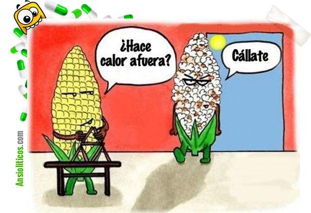 Chiste de Calor: Mazorcas de Maiz
