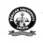 Periyar University Salem 2013 Exam Timetable -