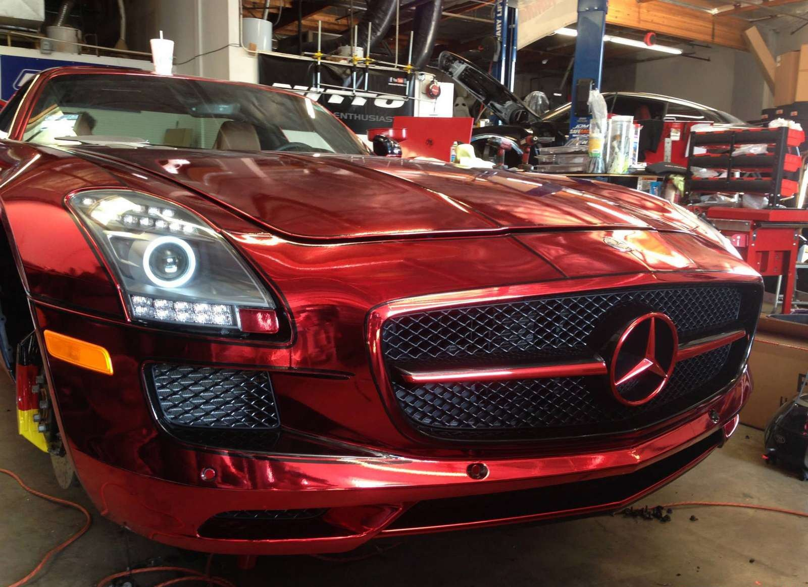 Davide458italia mercedes benz sls amg iron man by the r s for Mercedes benz iron