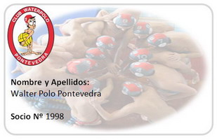 ¡Hazte socio del Club Waterpolo Pontevedra!